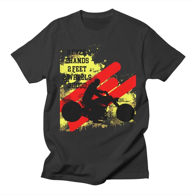 2 EYES 2 HANDS 2 FEET 2 GOOD JERKSTUNTS Men's Regular T-Shirt by ExploreDaily's Artist Shop