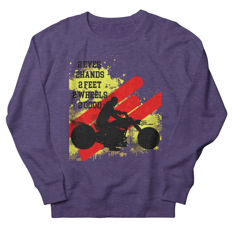 2 EYES 2 HANDS 2 FEET 2 GOOD JERKSTUNTS Women's French Terry Sweatshirt by ExploreDaily's Artist Shop
