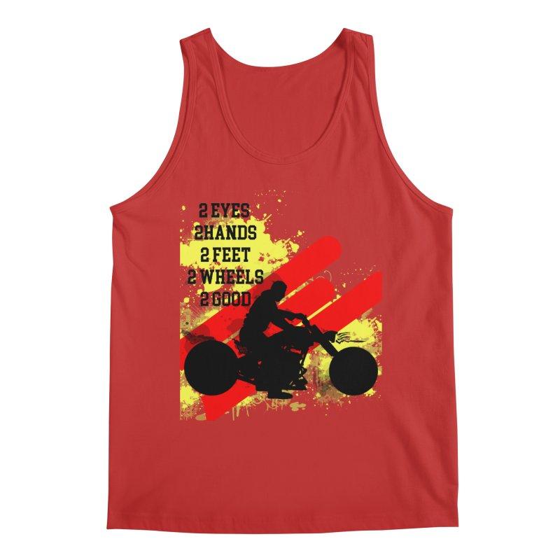 2 EYES 2 HANDS 2 FEET 2 GOOD JERKSTUNTS Men's Regular Tank by ExploreDaily's Artist Shop