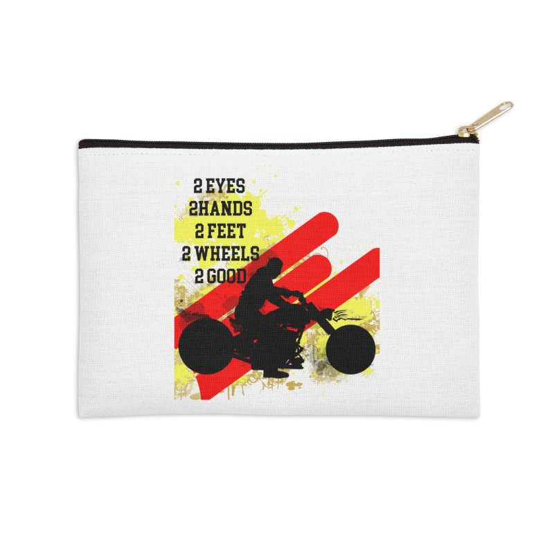 2 EYES 2 HANDS 2 FEET 2 GOOD JERKSTUNTS Accessories Zip Pouch by ExploreDaily's Artist Shop