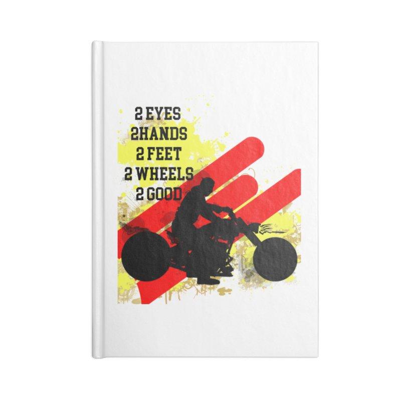 2 EYES 2 HANDS 2 FEET 2 GOOD JERKSTUNTS Accessories Notebook by ExploreDaily's Artist Shop