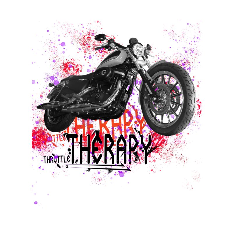 THROTTLE THERAPY RED HOT by ExploreDaily's Artist Shop