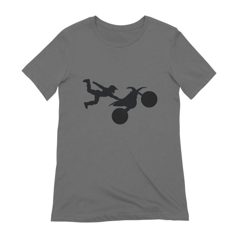 FMX LIFESTYLE JERKSTUNTS Women's Extra Soft T-Shirt by ExploreDaily's Artist Shop