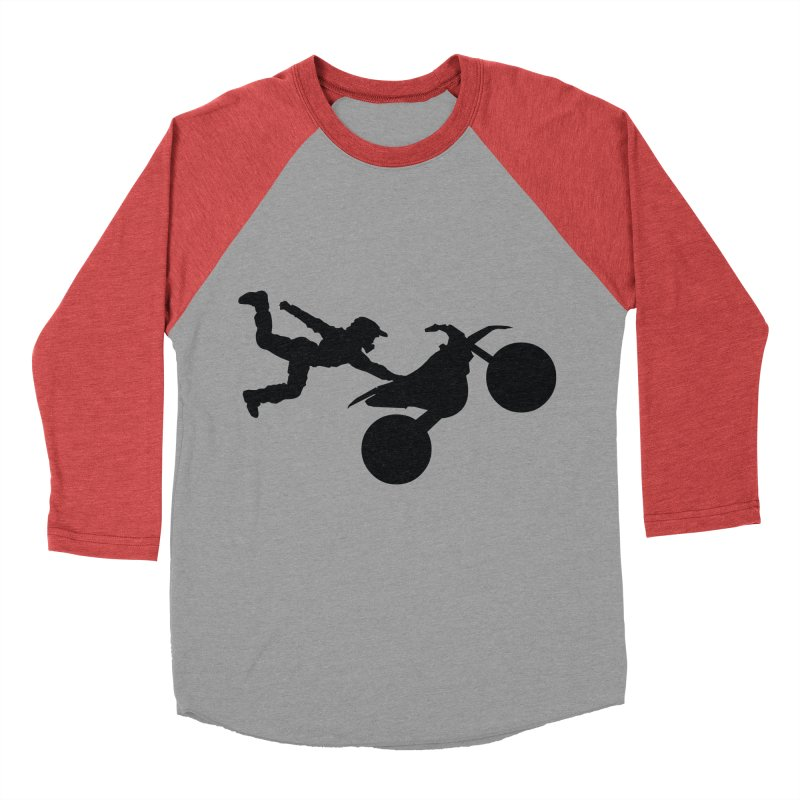 FMX LIFESTYLE JERKSTUNTS Women's Baseball Triblend Longsleeve T-Shirt by ExploreDaily's Artist Shop