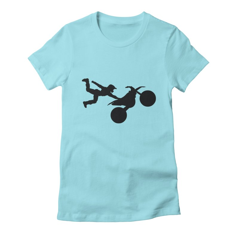 FMX LIFESTYLE JERKSTUNTS Women's Fitted T-Shirt by ExploreDaily's Artist Shop