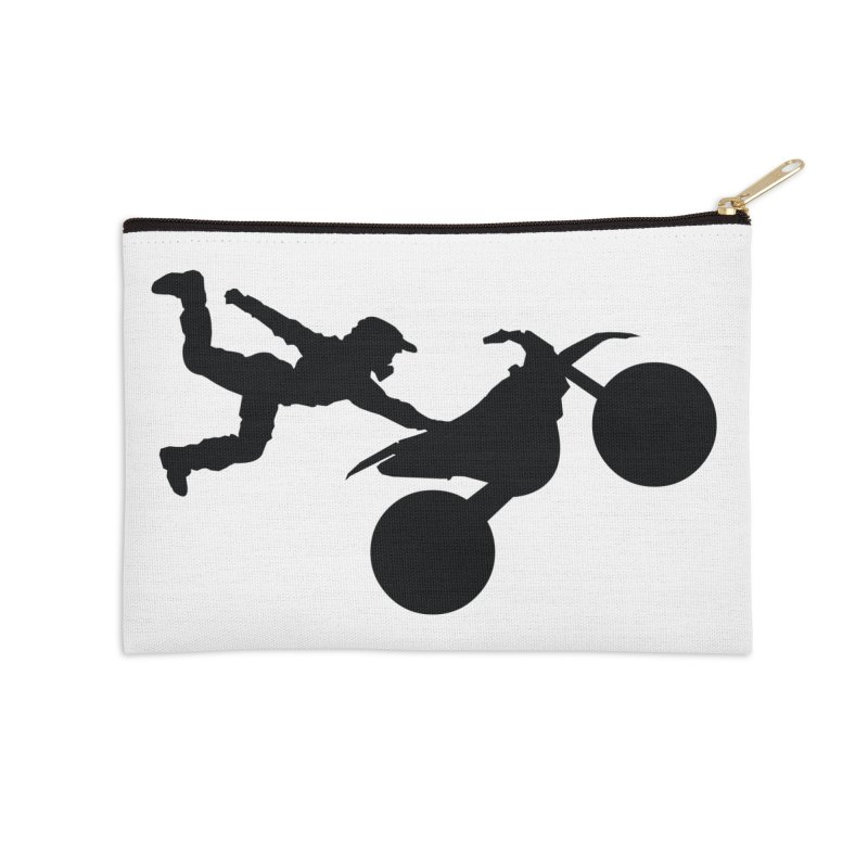 FMX LIFESTYLE JERKSTUNTS Accessories Zip Pouch by ExploreDaily's Artist Shop