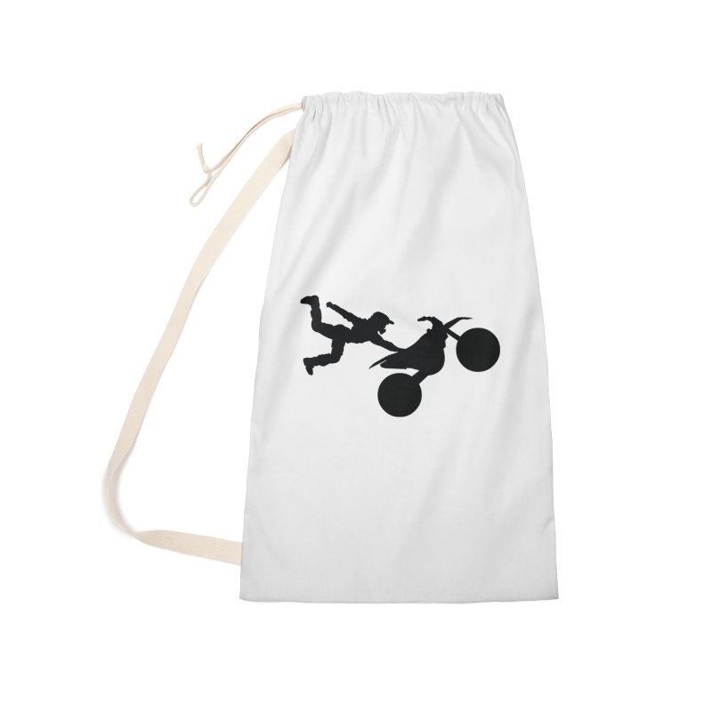 FMX LIFESTYLE JERKSTUNTS Accessories Laundry Bag Bag by ExploreDaily's Artist Shop