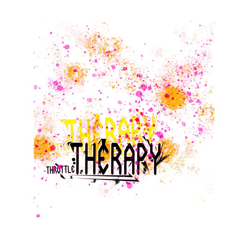 THROTTLE THERAPY SPLATTER ART by ExploreDaily's Artist Shop