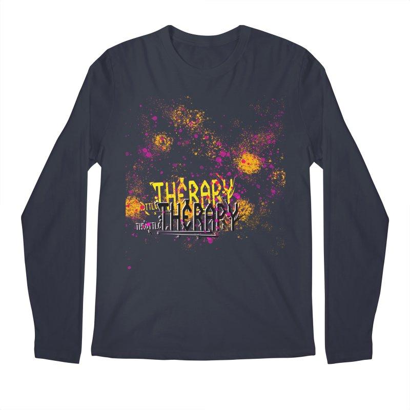 THROTTLE THERAPY SPLATTER ART Men's Regular Longsleeve T-Shirt by ExploreDaily's Artist Shop