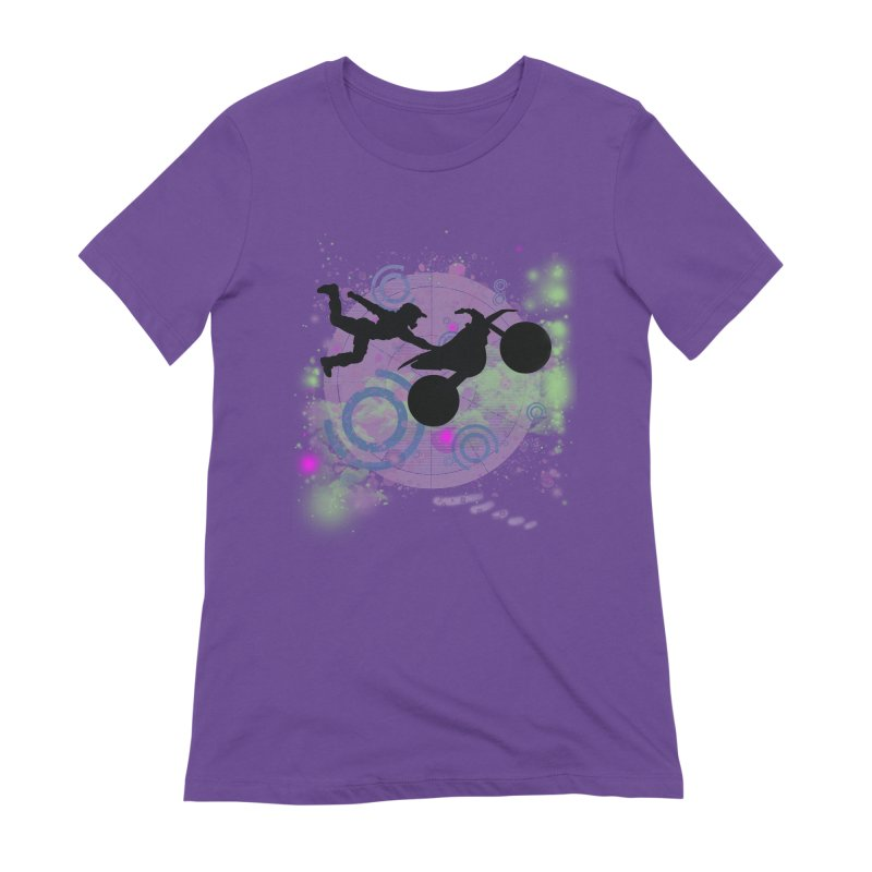 AIR TIME JERKSTUNTS Women's Extra Soft T-Shirt by ExploreDaily's Artist Shop