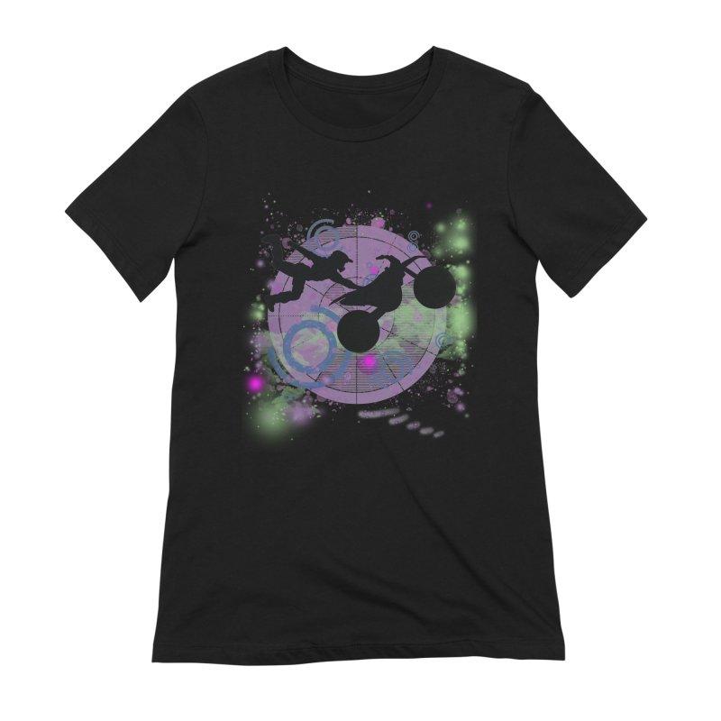 AIR TIME JERKSTUNTS Women's Extra Soft T-Shirt by ExploreDaily's Artist Shop