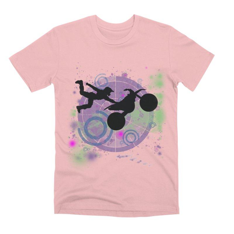 AIR TIME JERKSTUNTS Men's Premium T-Shirt by ExploreDaily's Artist Shop
