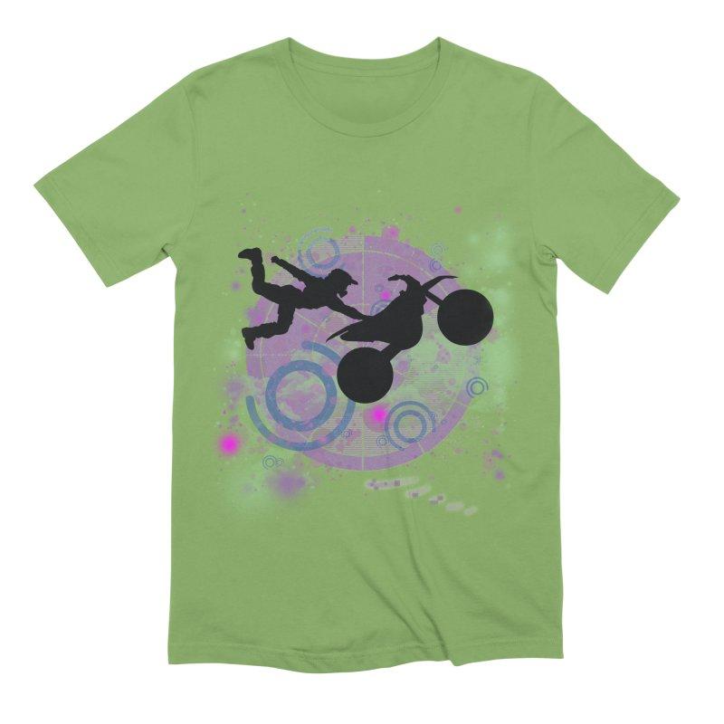 AIR TIME JERKSTUNTS Men's Extra Soft T-Shirt by ExploreDaily's Artist Shop