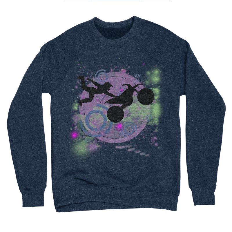 AIR TIME JERKSTUNTS Men's Sponge Fleece Sweatshirt by ExploreDaily's Artist Shop