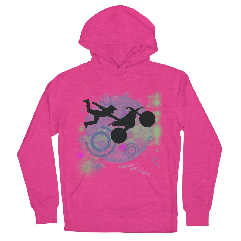 AIR TIME JERKSTUNTS Men's French Terry Pullover Hoody by ExploreDaily's Artist Shop