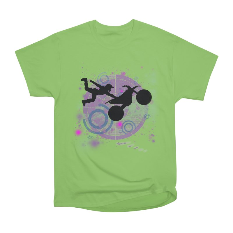 AIR TIME JERKSTUNTS Women's Heavyweight Unisex T-Shirt by ExploreDaily's Artist Shop