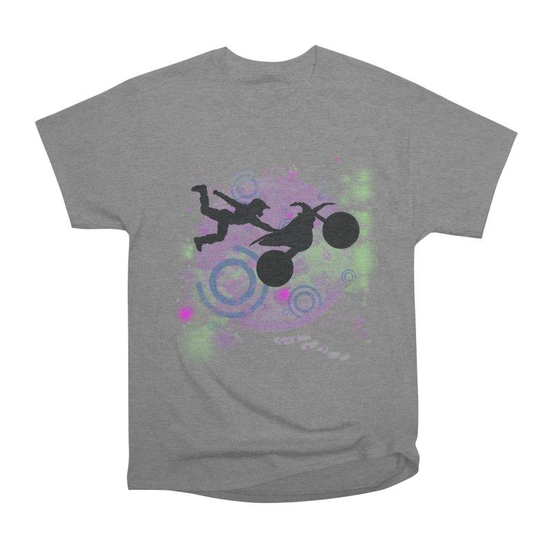 AIR TIME JERKSTUNTS Men's Heavyweight T-Shirt by ExploreDaily's Artist Shop