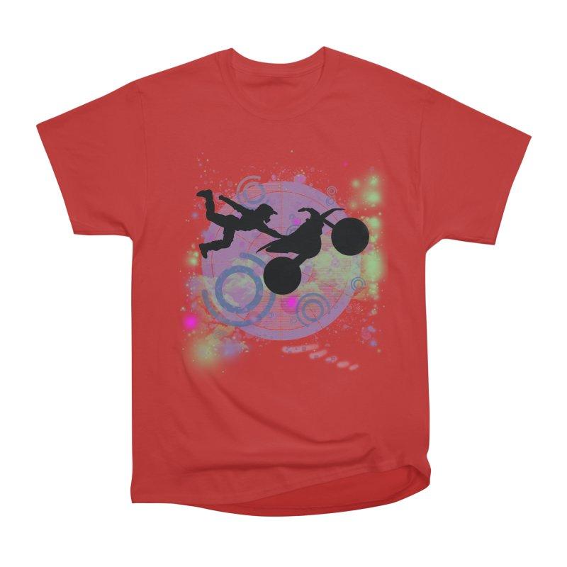 AIR TIME JERKSTUNTS Women's Heavyweight Unisex T-Shirt by ExploreDaily's Artist Shop