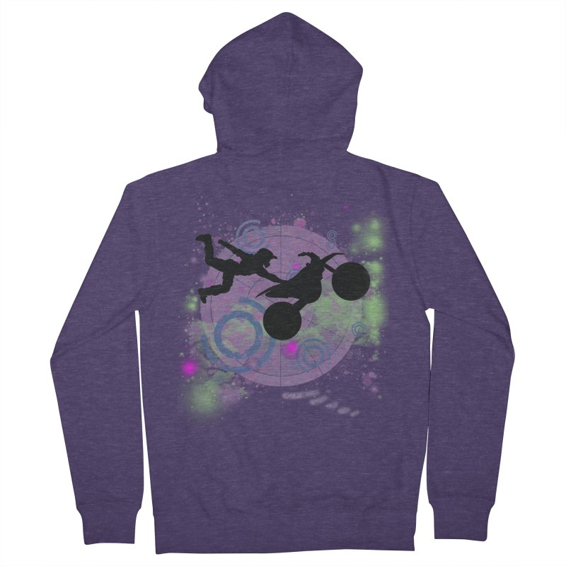 AIR TIME JERKSTUNTS Men's French Terry Zip-Up Hoody by ExploreDaily's Artist Shop