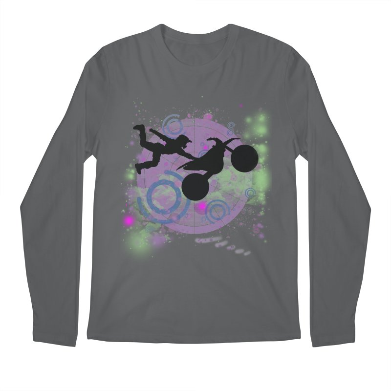 AIR TIME JERKSTUNTS Men's Longsleeve T-Shirt by ExploreDaily's Artist Shop