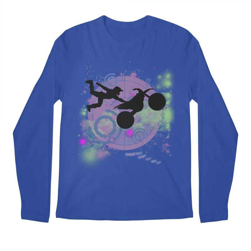 AIR TIME JERKSTUNTS Men's Regular Longsleeve T-Shirt by ExploreDaily's Artist Shop