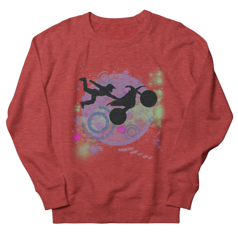 AIR TIME JERKSTUNTS Women's French Terry Sweatshirt by ExploreDaily's Artist Shop