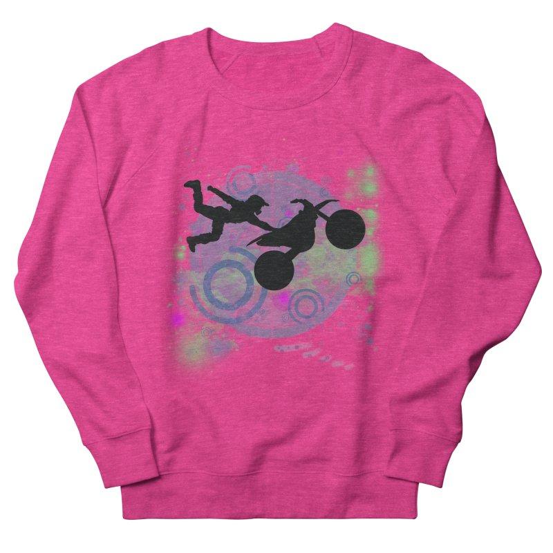 AIR TIME JERKSTUNTS Women's French Terry Sweatshirt by ExploreDaily's Artist Shop
