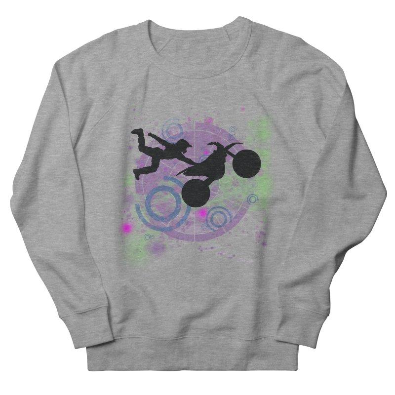 AIR TIME JERKSTUNTS Men's French Terry Sweatshirt by ExploreDaily's Artist Shop