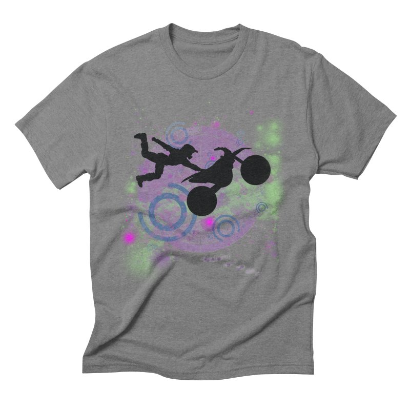 AIR TIME JERKSTUNTS Men's Triblend T-Shirt by ExploreDaily's Artist Shop