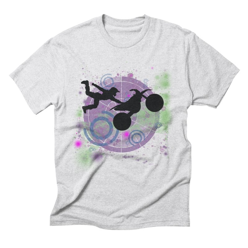 AIR TIME JERKSTUNTS Men's Triblend T-Shirt by ExploreDaily's Artist Shop