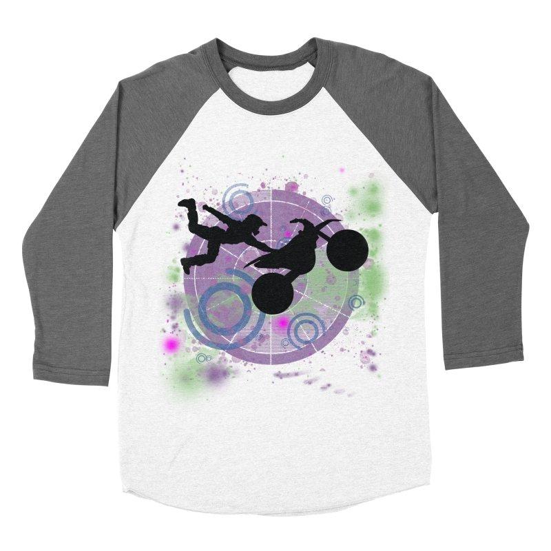 AIR TIME JERKSTUNTS Women's Baseball Triblend Longsleeve T-Shirt by ExploreDaily's Artist Shop
