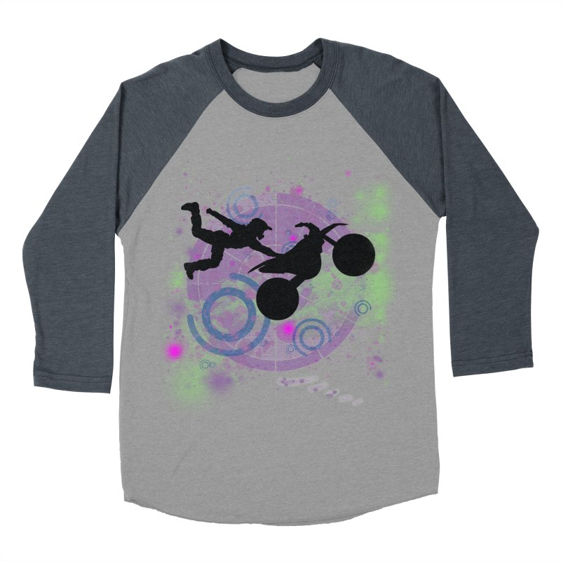 AIR TIME JERKSTUNTS Men's Baseball Triblend Longsleeve T-Shirt by ExploreDaily's Artist Shop