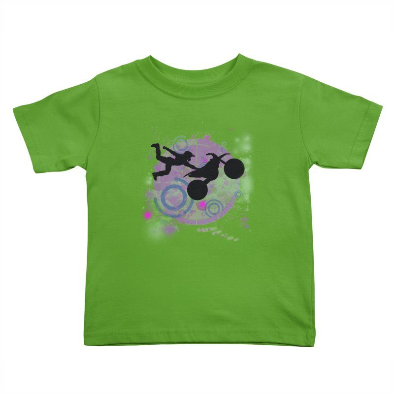 AIR TIME JERKSTUNTS Kids Toddler T-Shirt by ExploreDaily's Artist Shop