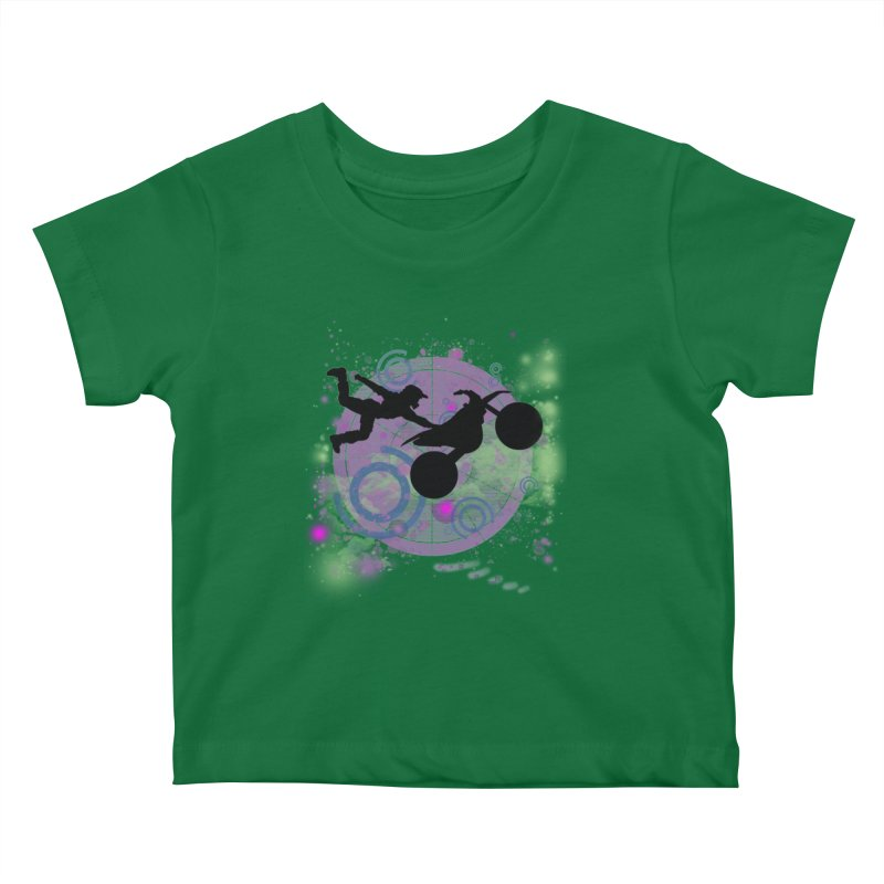 AIR TIME JERKSTUNTS Kids Baby T-Shirt by ExploreDaily's Artist Shop