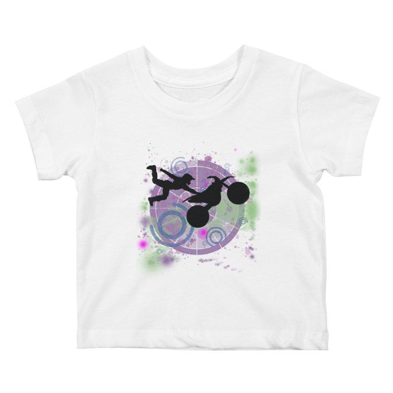 AIR TIME JERKSTUNTS Kids Baby T-Shirt by ExploreDaily's Artist Shop