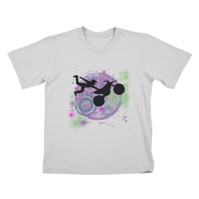 AIR TIME JERKSTUNTS Kids T-Shirt by ExploreDaily's Artist Shop