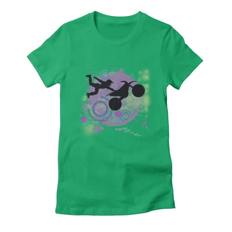 AIR TIME JERKSTUNTS Women's T-Shirt by ExploreDaily's Artist Shop