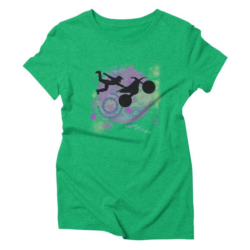 AIR TIME JERKSTUNTS Women's Triblend T-Shirt by ExploreDaily's Artist Shop