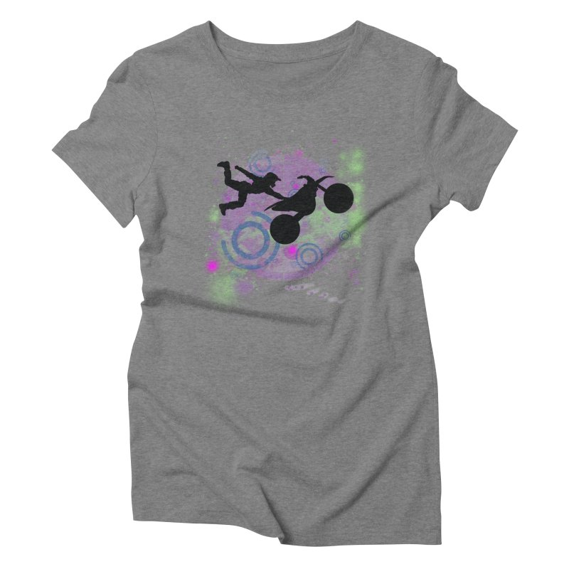 AIR TIME JERKSTUNTS Women's Triblend T-Shirt by ExploreDaily's Artist Shop