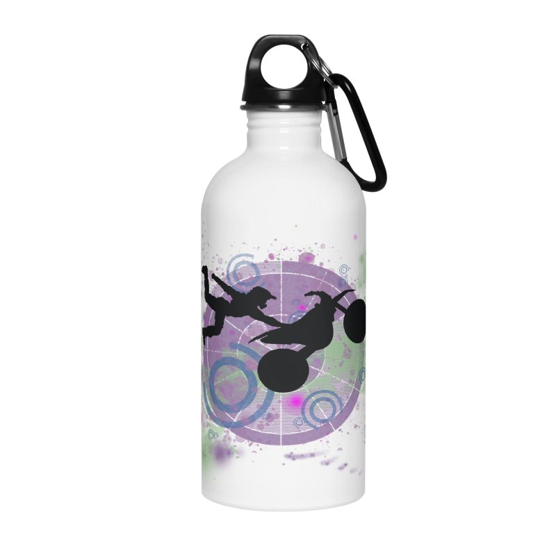 AIR TIME JERKSTUNTS Accessories Water Bottle by ExploreDaily's Artist Shop