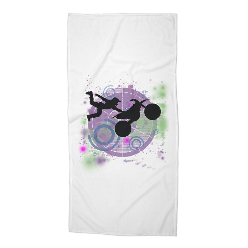 AIR TIME JERKSTUNTS Accessories Beach Towel by ExploreDaily's Artist Shop
