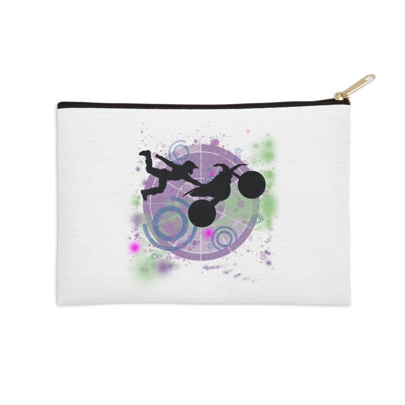 AIR TIME JERKSTUNTS Accessories Zip Pouch by ExploreDaily's Artist Shop