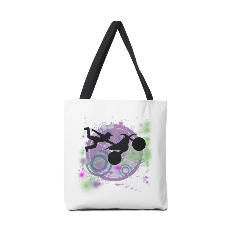 AIR TIME JERKSTUNTS Accessories Tote Bag Bag by ExploreDaily's Artist Shop