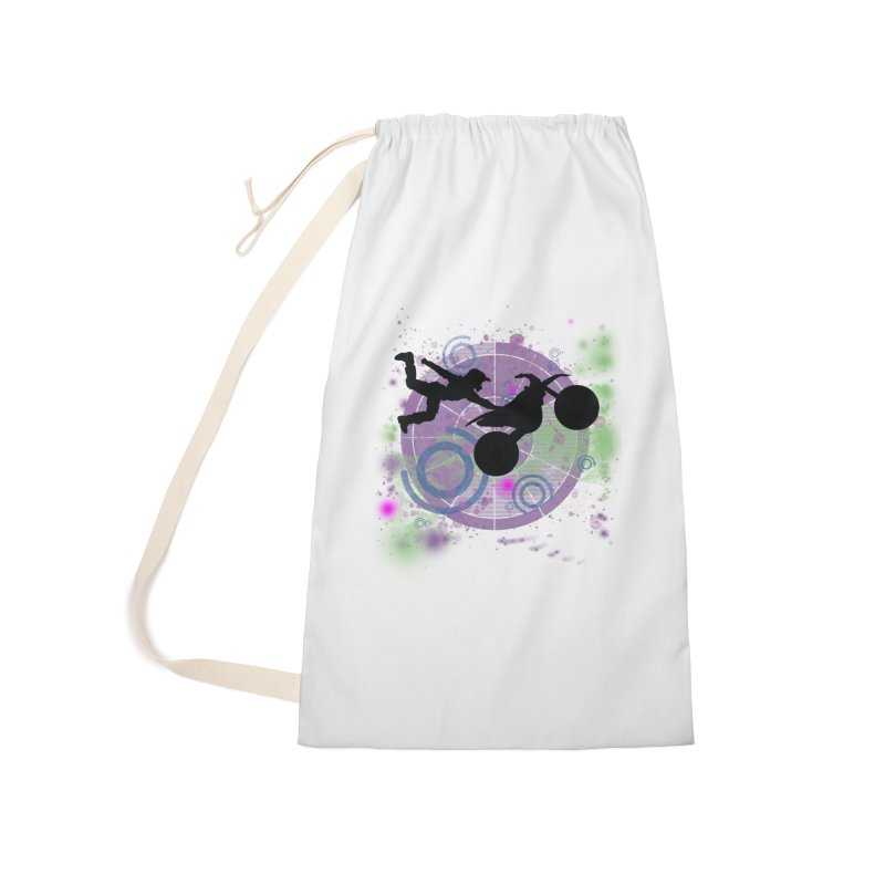 AIR TIME JERKSTUNTS Accessories Laundry Bag Bag by ExploreDaily's Artist Shop