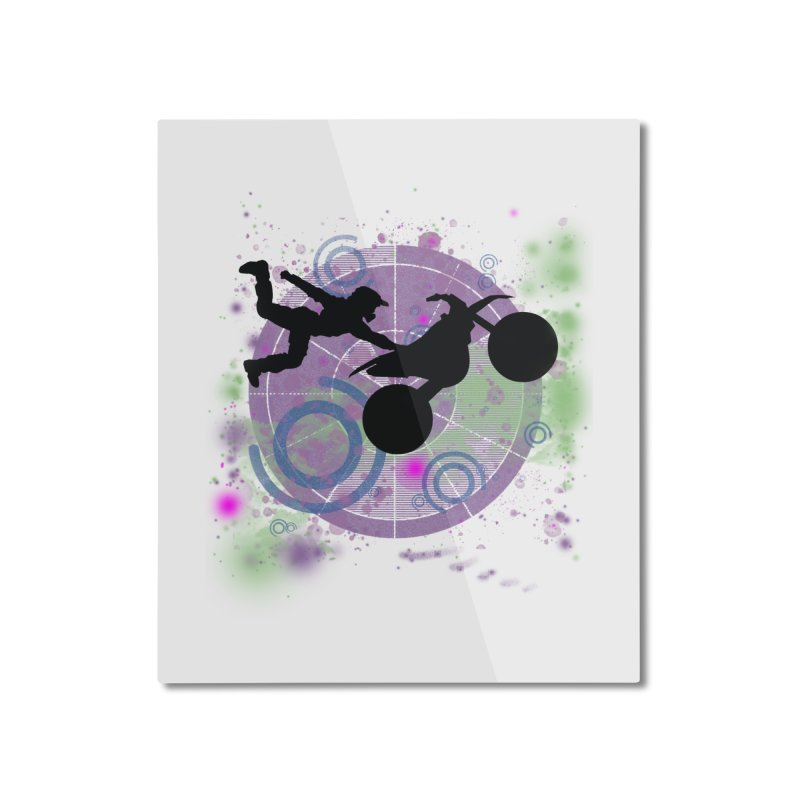 AIR TIME JERKSTUNTS Home Mounted Aluminum Print by ExploreDaily's Artist Shop