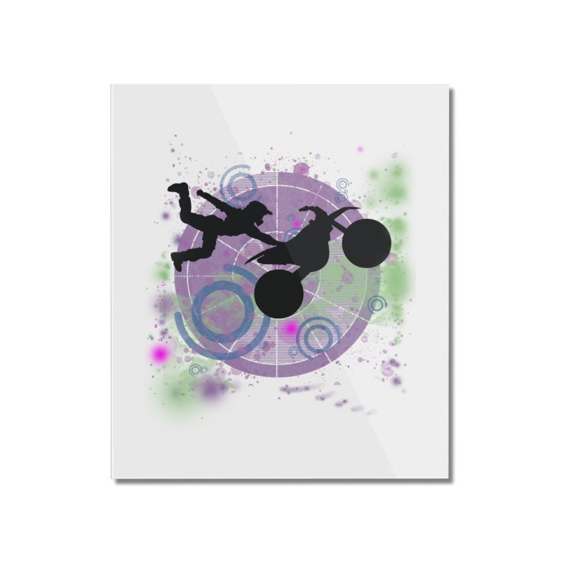 AIR TIME JERKSTUNTS Home Mounted Acrylic Print by ExploreDaily's Artist Shop