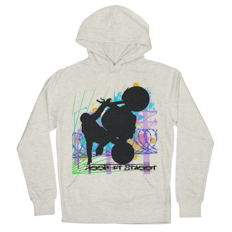 KEEP IT STREET JERKSTUNTS ALL ARTWORK © Men's French Terry Pullover Hoody by ExploreDaily's Artist Shop