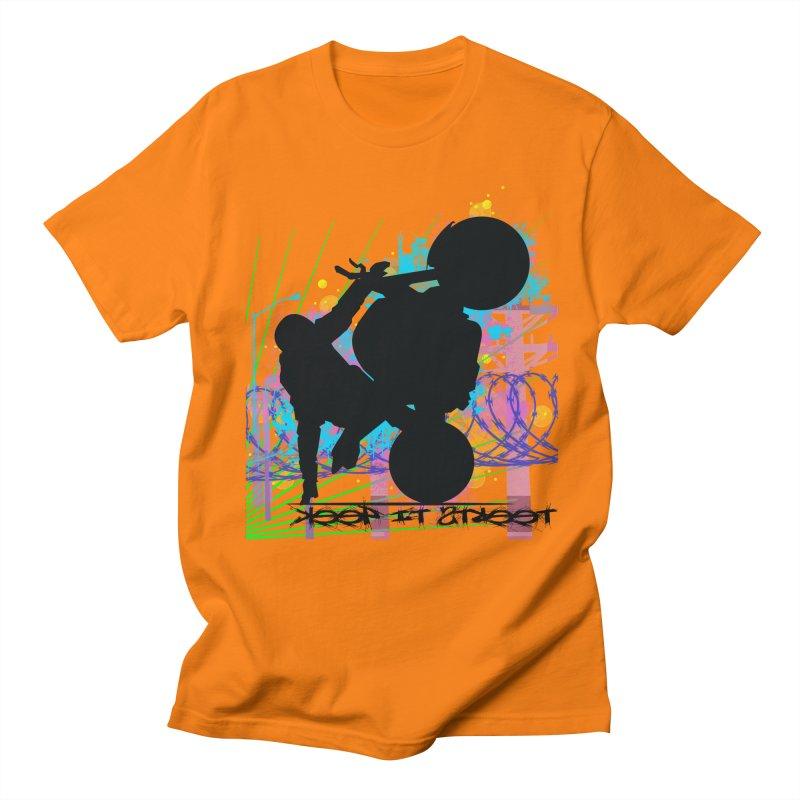 KEEP IT STREET JERKSTUNTS ALL ARTWORK © Women's Regular Unisex T-Shirt by ExploreDaily's Artist Shop
