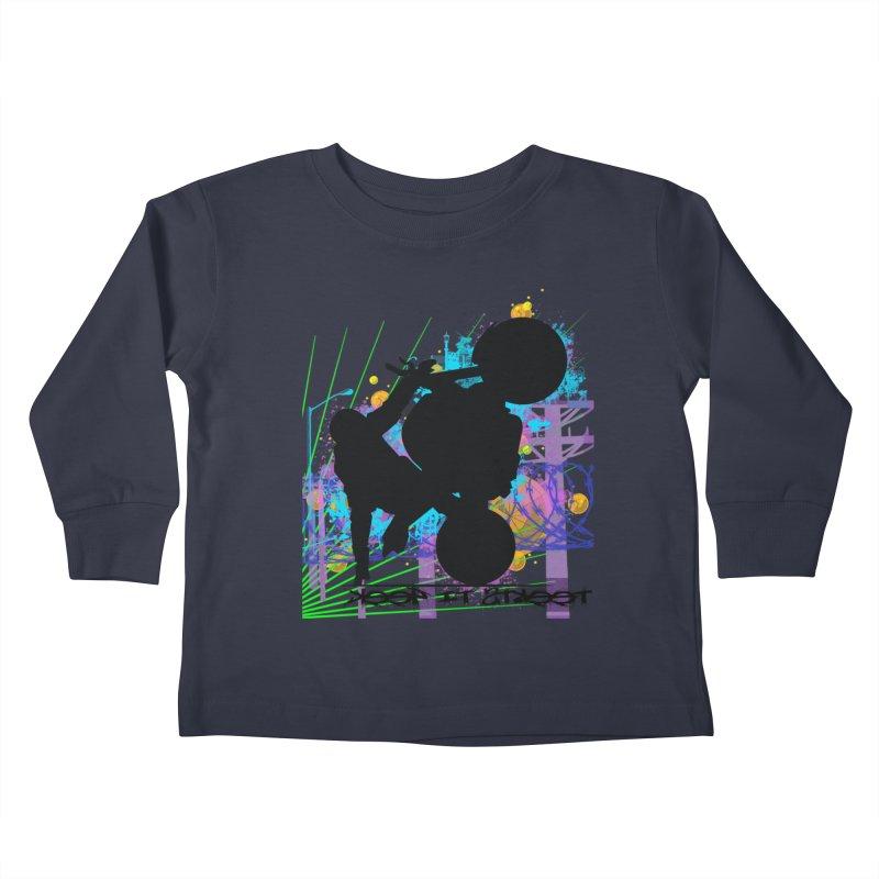 KEEP IT STREET JERKSTUNTS ALL ARTWORK © Kids Toddler Longsleeve T-Shirt by ExploreDaily's Artist Shop
