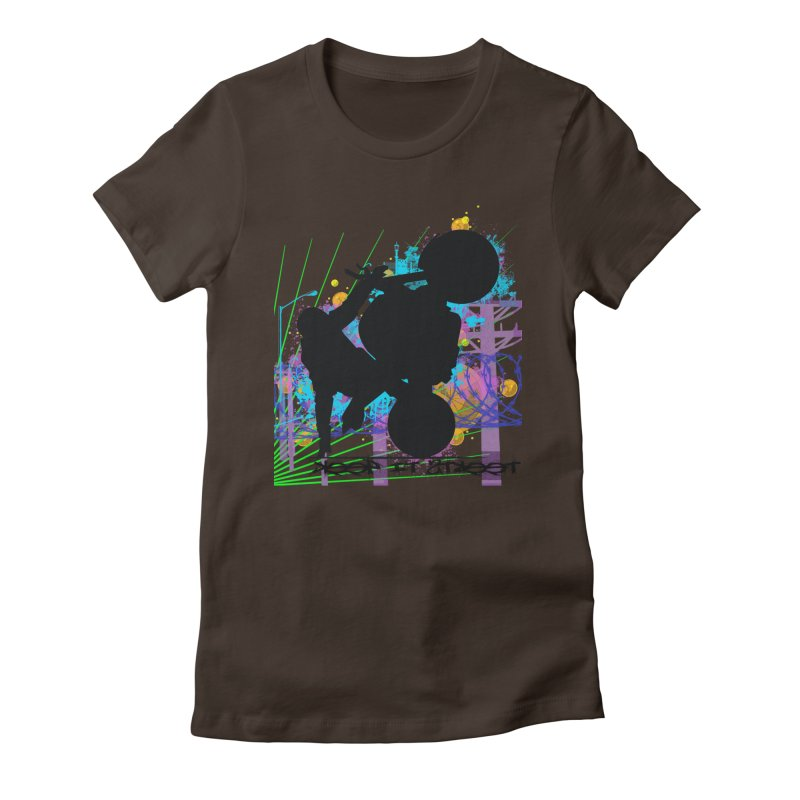 KEEP IT STREET JERKSTUNTS ALL ARTWORK © Women's Fitted T-Shirt by ExploreDaily's Artist Shop